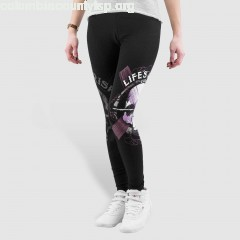 Women Legging/Tregging Blood Art Skull in black ZsZEv9VE