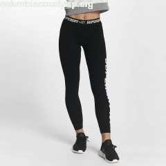 Women Legging/Tregging Sport Tape in black ir07F9Wh