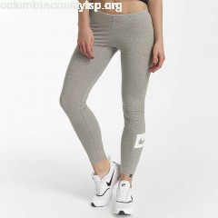 Women Legging/Tregging Sportswear Club Swoosh in grey oSaUPAZa