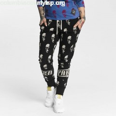 Women Sweat Pant Allover Skull in black dCwDtAGc