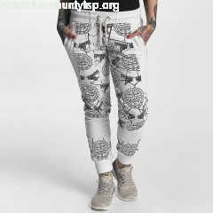 Women Sweat Pant Allover Snake in white hwaYNkOD