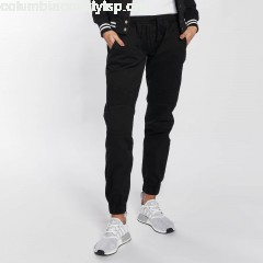 Women Sweat Pant Biker in black BOqwPj4k