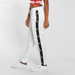 Women Sweat Pant Button Up in white M8b7upqf