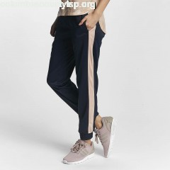 Women Sweat Pant Cuff in blue 73dyqnsR