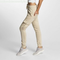 Women Sweat Pant Greta in beige S5pfszvU