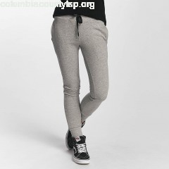 Women Sweat Pant Jogger in grey YLSkREP9