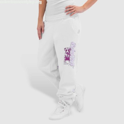 Women Sweat Pant Merah in white P01g8qSj