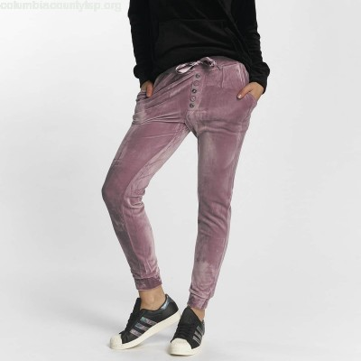 Women Sweat Pant Nicki in purple a1NpAXID