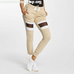 Women Sweat Pant Selina in beige A76NwtFL
