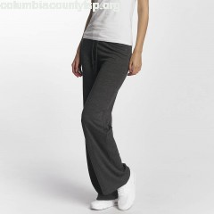 Women Sweat Pant Silicon in grey xwmtckma