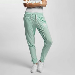 Women Sweat Pant Vintage in green lG7gV1RR