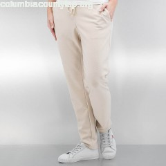 Women Sweat Pant vmCassy Ancle in beige k7QU1C6b