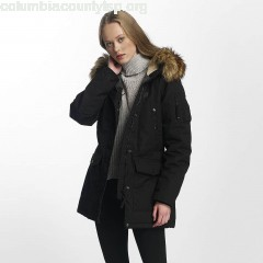Women Winter Jacket Hailey in black u9M7OCNs
