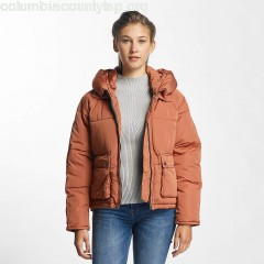 Women Winter Jacket Kundong in brown 10QIrtkp