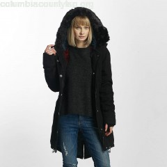 Women Winter Jacket New in black ToP1U6pC
