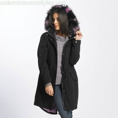 Women Winter Jacket nmStation in black FZx1S2Ii