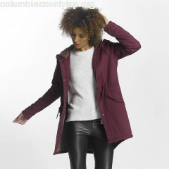 Women Winter Jacket onlFavourite in red ciq2Nw4O