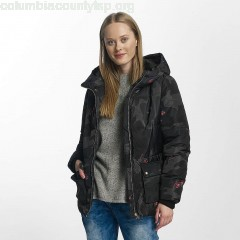 Women Winter Jacket onlNora in camouflage d1f2jDEd