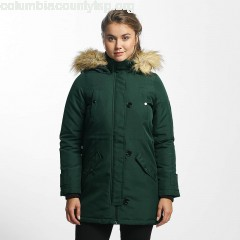 Women Winter Jacket vmExcursion Expedition 3/4 in green iwftgy66