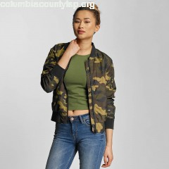 Women Bomber jacket Ladies Light Camo in camouflage WWphSkq7