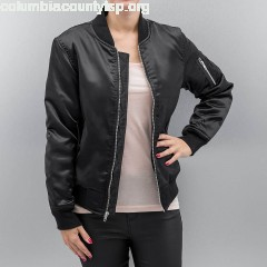 Women Bomber jacket Leilani in black c2qq8Tqy