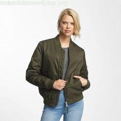 Women Bomber jacket Liv in olive 56AHeJ2C