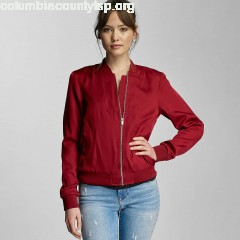 Women Bomber jacket pcCampain Bomber in red vn2z0dw0