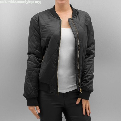 Women Bomber jacket PCHaley in black w4tpzz5H