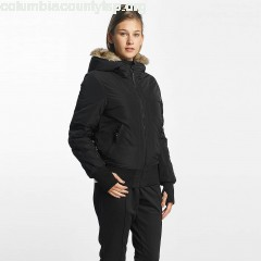 Women Bomber jacket Rick Look Bomber in black GBPO3Kn7