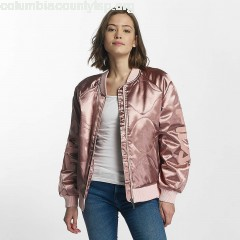 Women Bomber jacket Urban Line in rose zY1lV09p