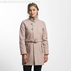 Women Coats Candy in rose XMuooRbx