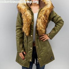Women Coats Coated in olive xgguffB8