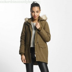 Women Coats jdStar Fall in olive sS2oIJr2
