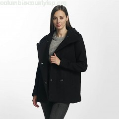 Women Coats vmCollar in black vnPUuSZ6