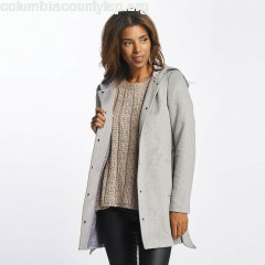Women Coats vmMelena in grey 0w9Kjq6M