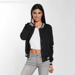 Women College Jacket College in black 9Tnb6dFX