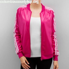 Women College Jacket Superstar in pink cYo3RKJ1
