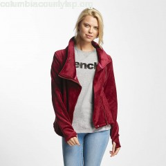 Women Lightweight Jacket Biker Funnel in red VFH0RLvw