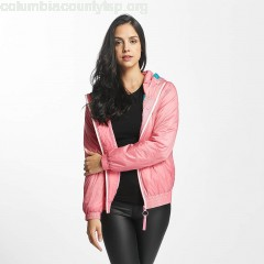 Women Lightweight Jacket Light Padded in rose svNafbHG