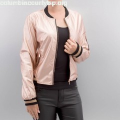 Women Leather Jacket Bonnie in rose HhiQcC90