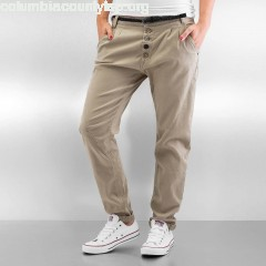 Women Chino Basic in beige uB7HMDJt