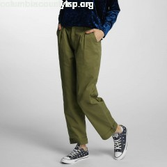 Women Chino nmCannon in olive VHqZNjUW