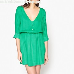 Jacinthe dress with 3/4 length sleeves Garance Paris   KQ8URYeE