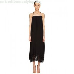 LOVE Moschino Lazer Cut Maxi Dress E2ptDZLb