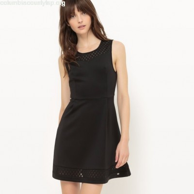 Sleeveless skater dress Lpb Woman pexaZmxg