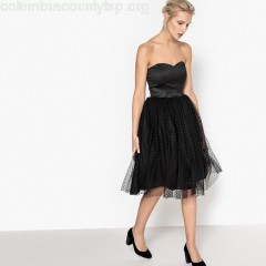 Strapless prom dress, black, Mademoiselle    jzpDRQGM