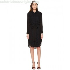 THOMAS WYLDE Phylicia - Long Sleeve Button Down Dress ynJvKEtc