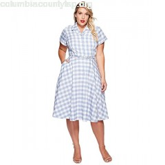 Unique Vintage Plus Size Alexis Shirtdress cLIQEQiW