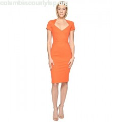 Zac Posen Bondage Jersey Short Sleeve Dress FG4JbAAT