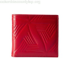 MARNI Flower Embossed Leather Bifold sK9zXUlL